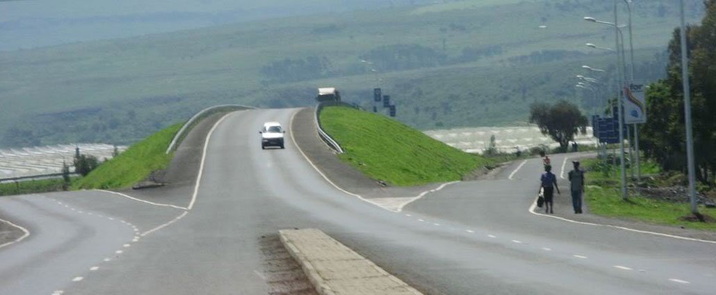 Roads in Kenya