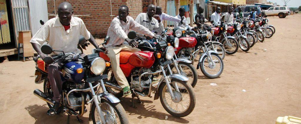 Boda Boda Motor Bike Riders