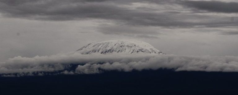 A view of Mount Kilimanjaro from Amboseli. Amboseli safaris