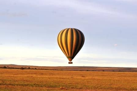 Hot air balloon, adventure Kenya safari