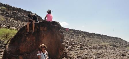 Art rock, Lake Turkana safari